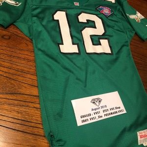 low cost 7dce6 a458f VTG Authentic Randall Cunningham Eagle Jersey #12
